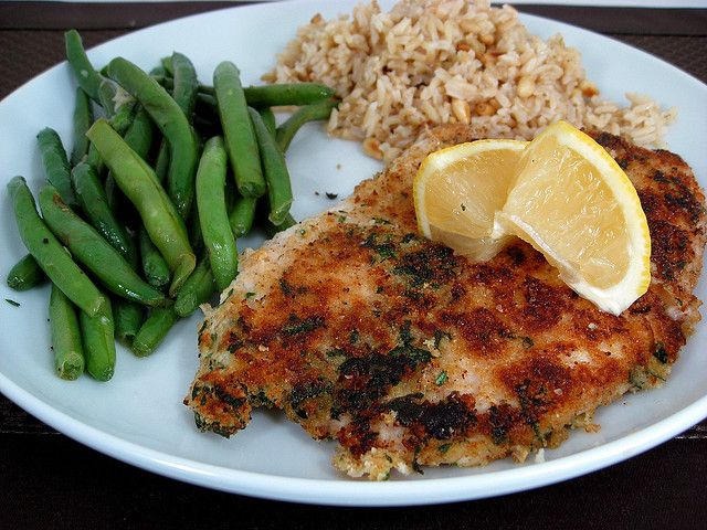 Yummy breaded tilapia... if you follow the general cooking principles you can change the herbs and recipe as per desire.