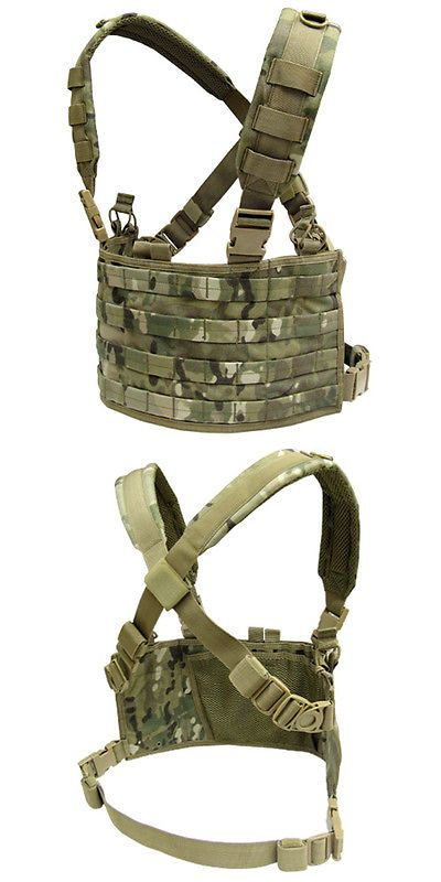 Chest Rigs and Tactical Vests 177891: Condor Mcr4-008 Ops Operator Molle Tactical Chest Rig - Multicam -> BUY IT NOW ONLY: $33.95 on eBay!