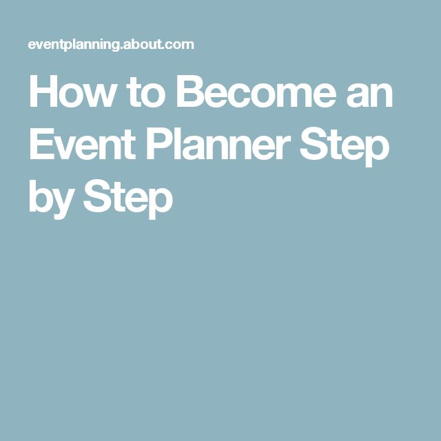 Event Planning: So, You Want To Become An Event Planner?