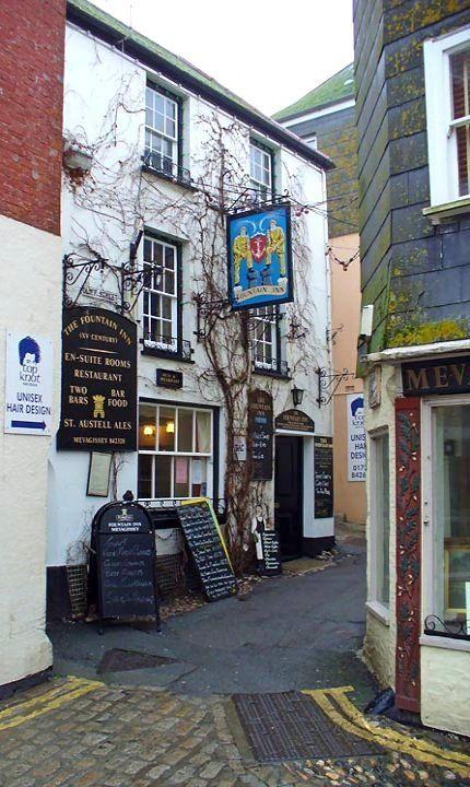 Mevagissey coastal town, Cornwall, England