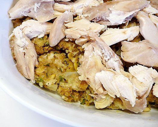 Turkey Leftovers Casserole