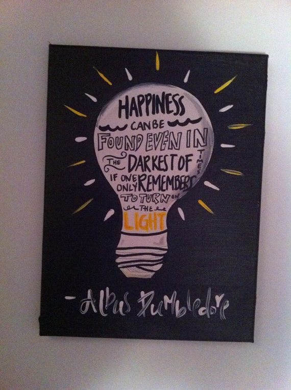 Harry Potter Quote on Etsy, $20.00