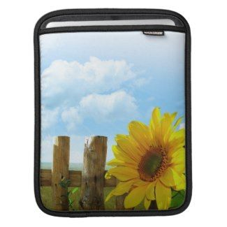 Sunflower Nature Beauty Sleeve For iPads