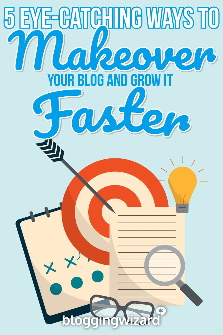 Is your blog in need of a makeover? Here's how to get started...