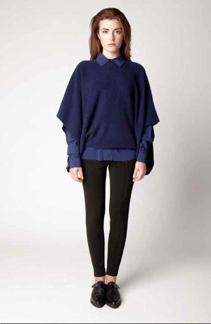 Multiwear Knit Cape