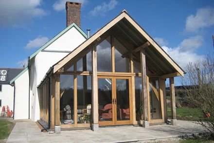 66 best images about architecture on pinterest covered for Wooden garden rooms extensions