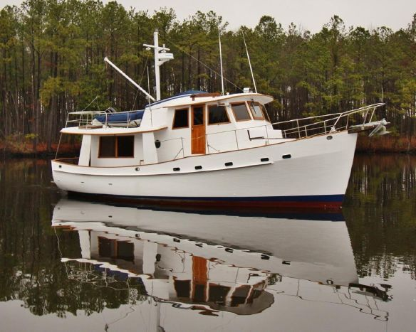 1982 Krogen 42 Trawler Power Boat For Sale - www.yachtworld.com