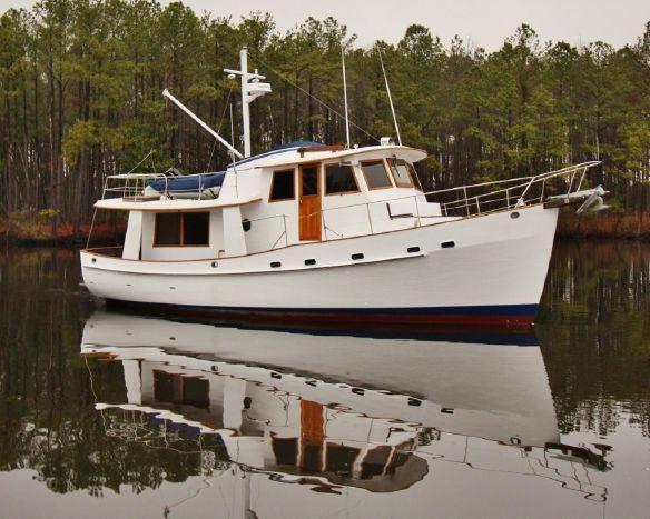 1982 Krogen 42 Trawler Power Boat For Sale - www.yachtworld.com