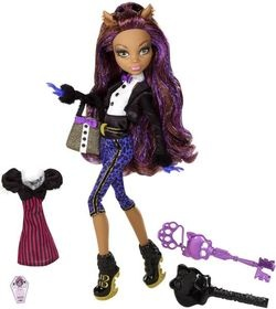 Mattel, Monster High, Słodkie 1600 urodziny Draculaury, Clawdeen Wolf, lalka