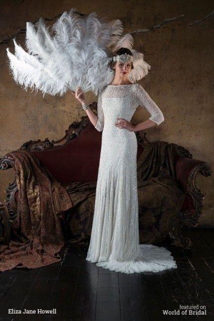 6 vestidos de noiva inspirados nos anos 20