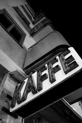 Åsa Hill - Coffee, black & white photo art, prints & posters