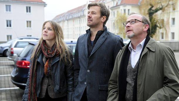 Die Underdogs (v.l.): Bernadette Heerwagen, Marcus Mittermeier und Alexander Held klären Fälle auf, um die andere Kollegen lieber einen Bogen machen ZDF Münchner Mord