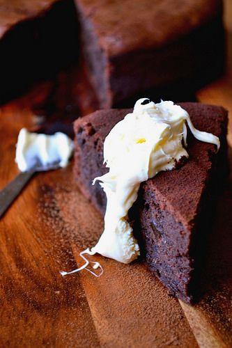 chocolate prune cake More