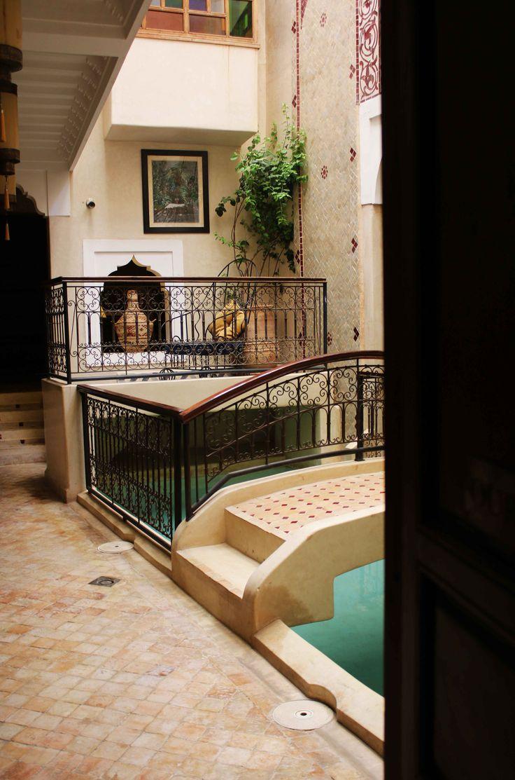Riad en Marrakech, Marruecos. Visita mi página web para leer mis aventuras en Marruecos: https://unachicatrotamundos.wordpress.com/2016/08/03/marrakech-una-ciudad-de-colores-y-especias/