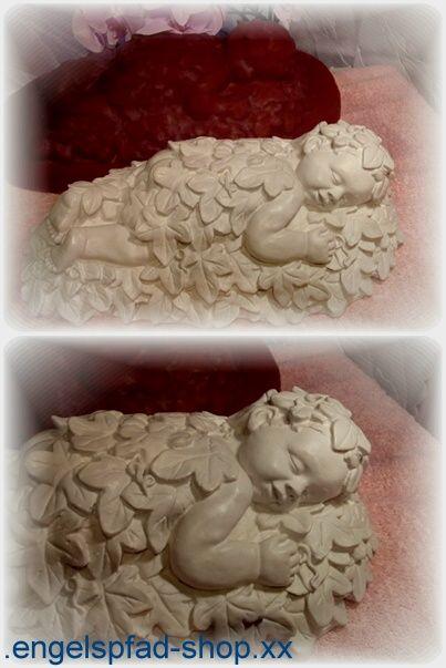 GROßE GIEßFORM - Wald - Baby - Figur Gießformen 975