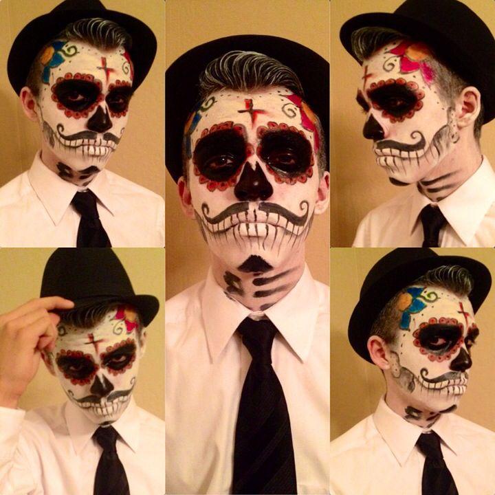 Halloween: Day of the Dead El Catrin look