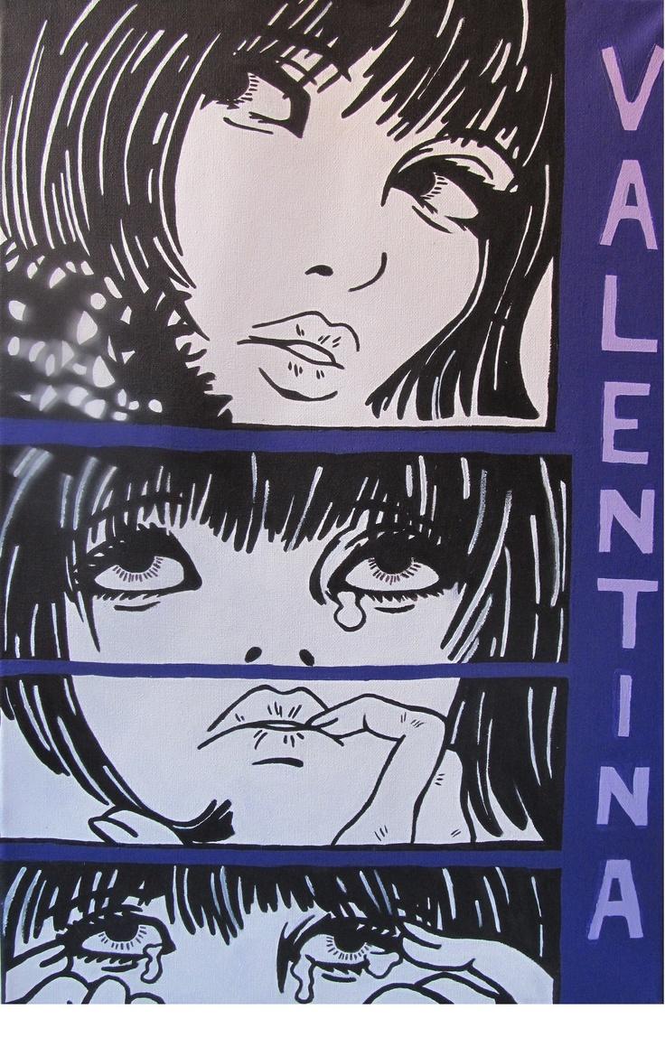 """""""Valentina"""" comics"""
