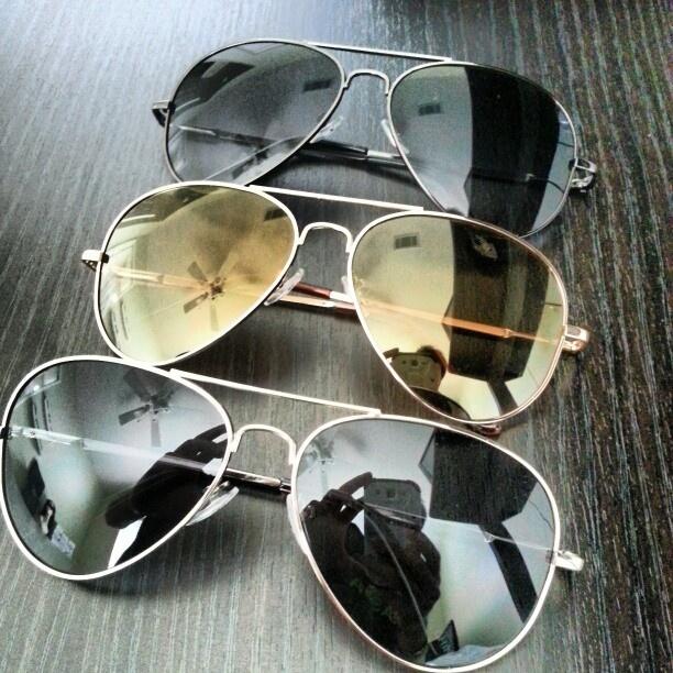 Мода на очки авиаторы