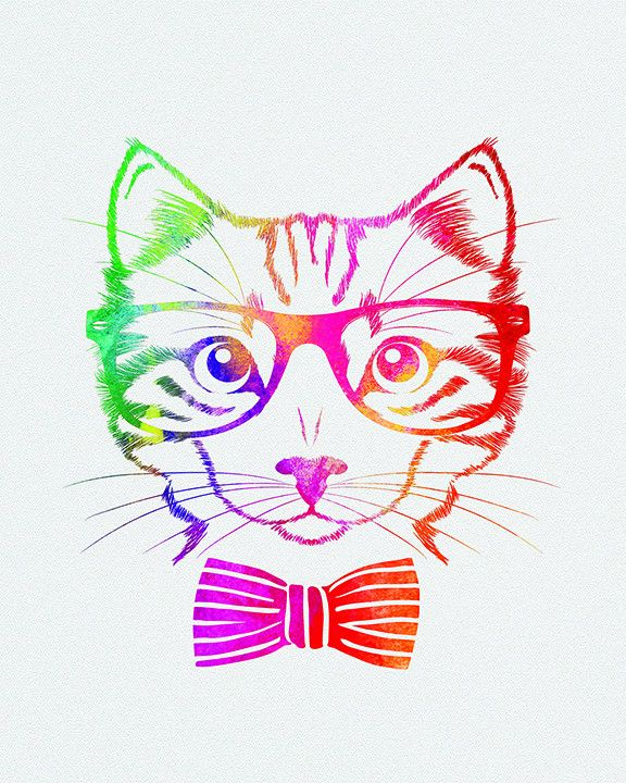Cat with glasses and hat tattoo similar to other and on outer bicep by shoulder??