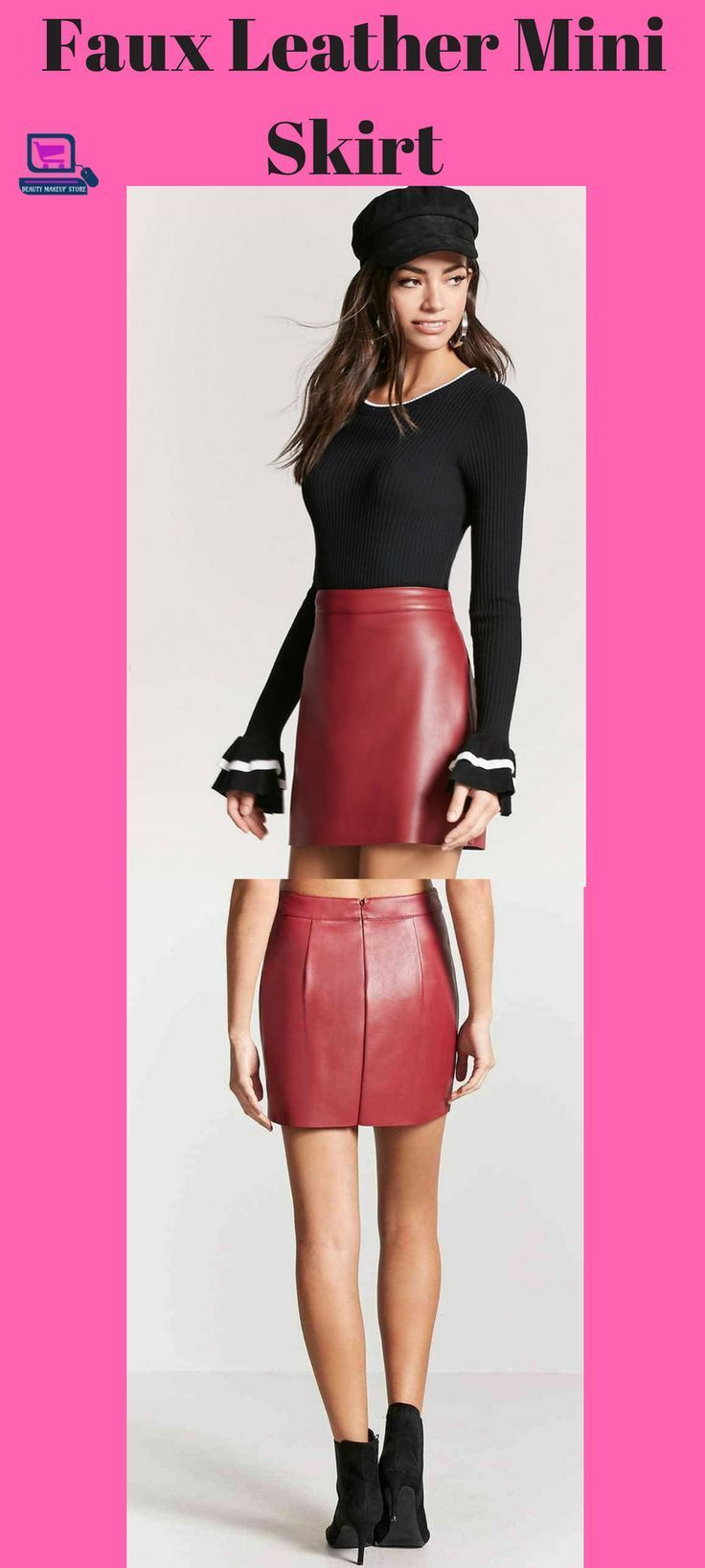 faux leather mini skirt #miniskirt #miniskirt, #skirt #womenskirts mini skirt | mini skirt high heels tight dresses | mini skirts micro | mini skirts and high heels | mini skirt and heels | Hot Mini Skirts | Mini Skirt Mania | Mini skirt | Mini skirts | Mini Skirt Style Wedding Dresses | Mini Skirts & Short Hems | #hothighheelstightdresses