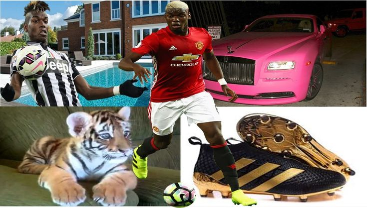 Paul Pogba's net worth, biography, family, pets, houses, cars and shoes: You won't believe he owns a Tiger as pet (See Photos)
