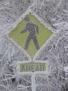 Freezing up ahead