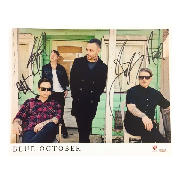 Blue October - Home 8x10 Photo