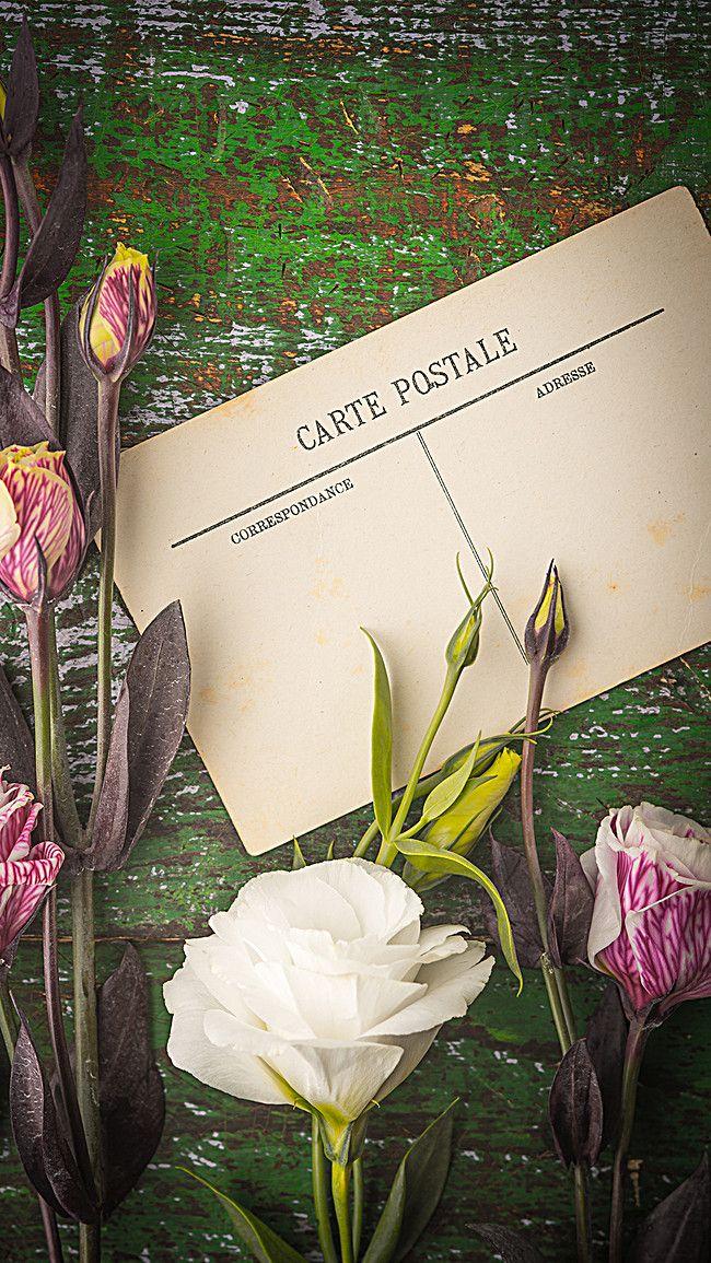Rose Vintage Valentine Background Art