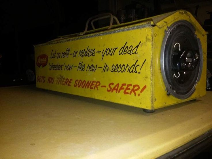 Custom speaker box made out of an old tool box. Pic 2