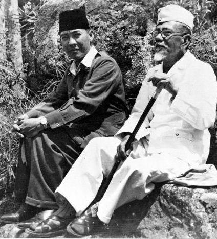 Sukarno & KH.Agus Salim