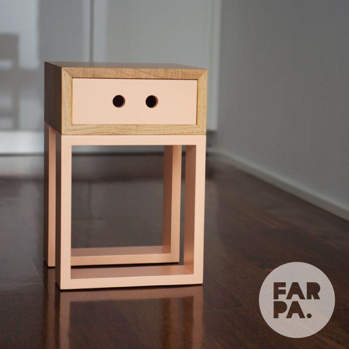 Banco Gaveteiro Box Igual #farpa #gaveteiroboxigual #wood #seat