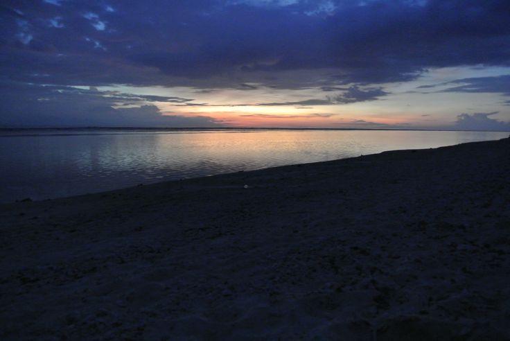Gili- Sonnenuntergang