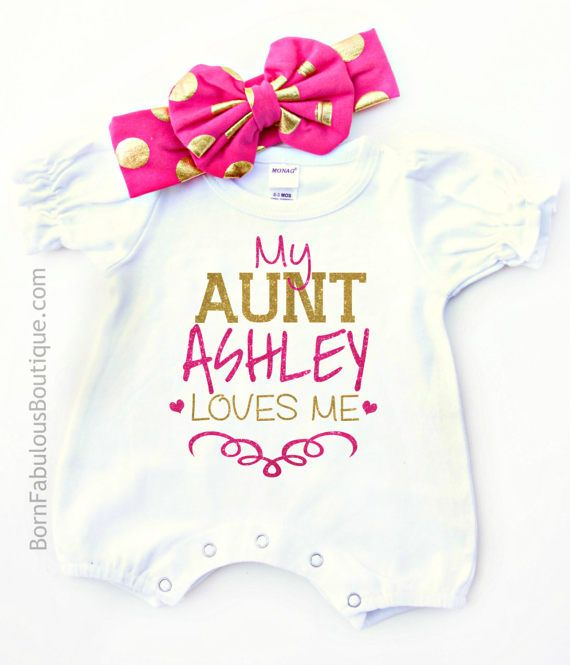 24 best baby girl clothes images on pinterest baby girl outfits personalized baby clothes aunt gift auntie by bornfabulouskids negle Image collections