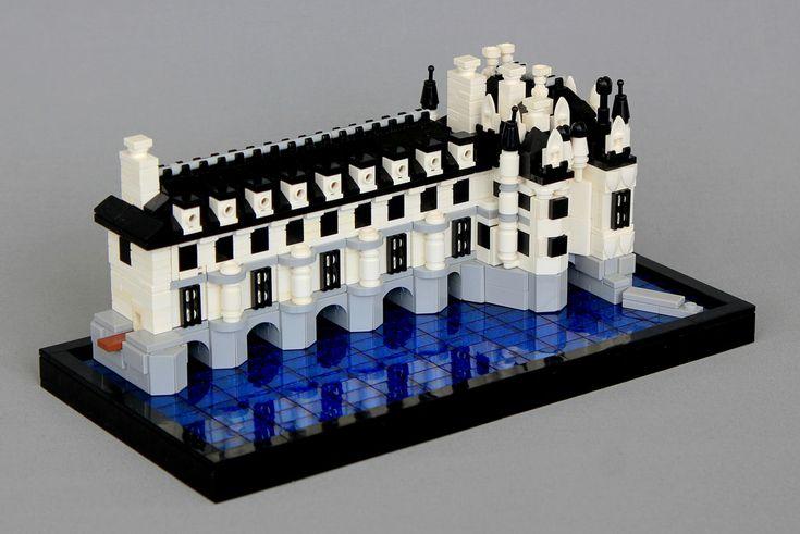 Chateau De Chenonceau Lego Architecture Lego Lego Design