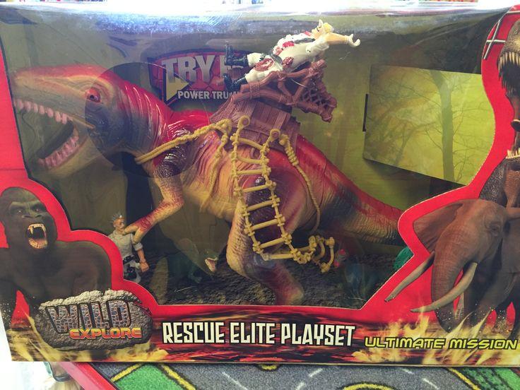 Dinosaure set d'élite secours. 3+ans. 25.99$ Disponible en boutique ou sur notre catalogue en ligne. Livraison rapide au Québec.  Achetez-le info@laboiteasurprisesdenicolas.ca