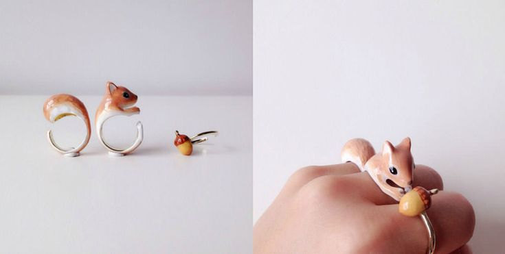 Featured Image for Artist combines rings to make adorable animals on your fingers