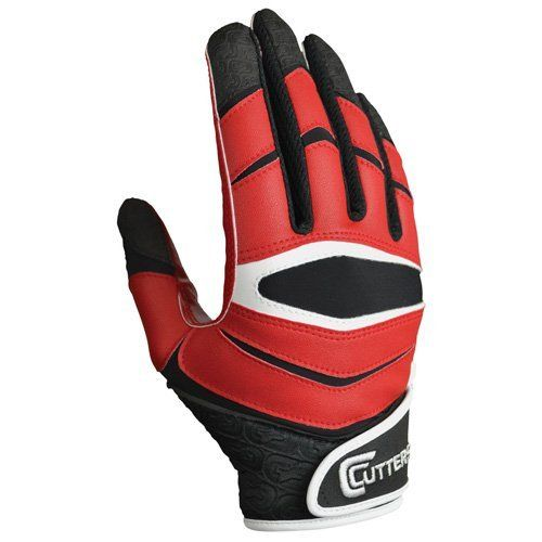 Cutters Gloves C-TACK Revolution Football Gloves by Cutters. Meets NFHS/NCAA/NOCSAE specifications. Performs in all weather conditions. Made with C-TACK performance grip material. Machine washable. Machine dryable.