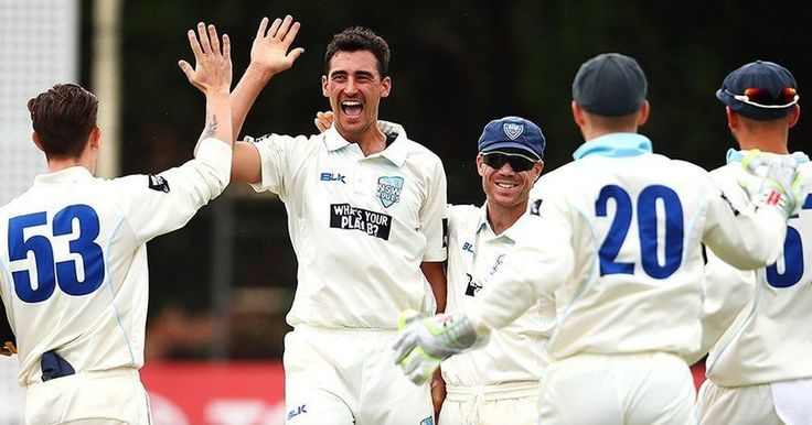 Mitchell Starc Takes Two Hat-Tricks In A Single Match Of Sheffield Shield #Ashes #cricket #AUSvsENG