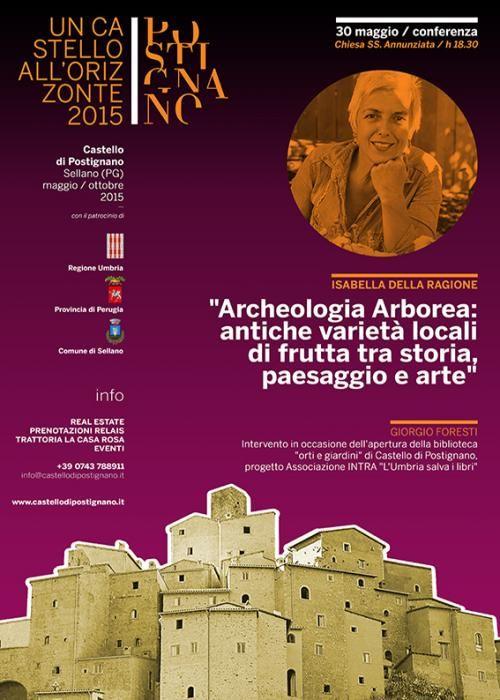 Archeologia Arborea: antiche varieta' locali di frutta tra storia, paesaggio e arte