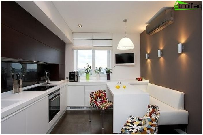 Kitchen Design 10 sq m - 50 photo kitchen interior ideas, choose the best