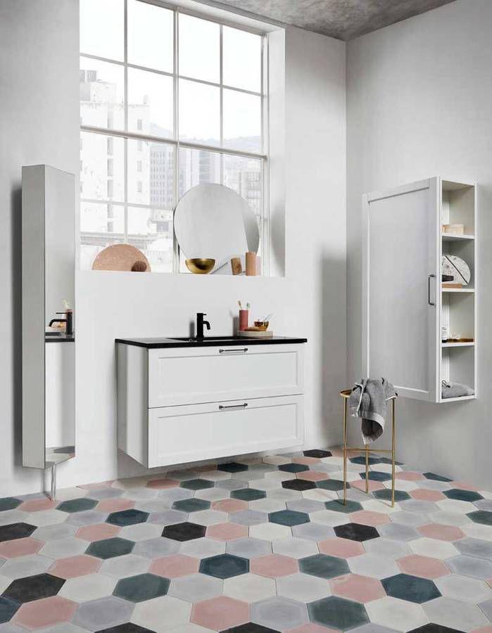 17 meilleures id es propos de salle de bains sur for Deco salle de bain carrelage