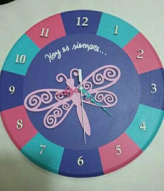 """Reloj """"Hoy es siempre"""""""