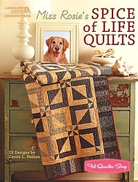 Miss Rosie's Spice of Life Quilts.