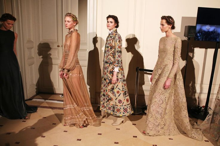 Backstage at Valentino Couture Spring 2015 - Slideshow