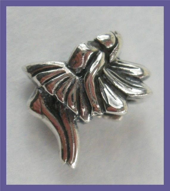 """BEAD CHARM - STERLING SILVER PRETTY LITTLE FAIRY""  CHARM FASHION  JEWELLERY, FROM JEWELLERYAUCTIONS.COM"