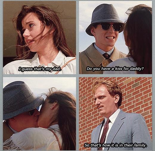 Ferris Bueller Museum Kiss