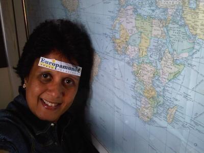 Concurso: Por tu Cara Bonita  Frase: Llevarlos siempre en conmigo y recorrer el mundo!!!  Concursante: Marbella Gonzalez