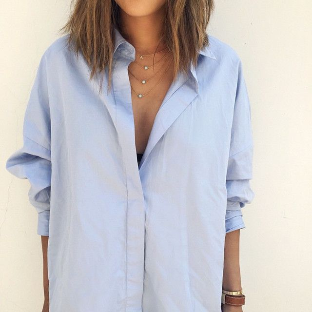 Song Of Style: No-boyfriend boyfriend shirt | For more ideas, click the picture or visit www.thedebrief.co.uk