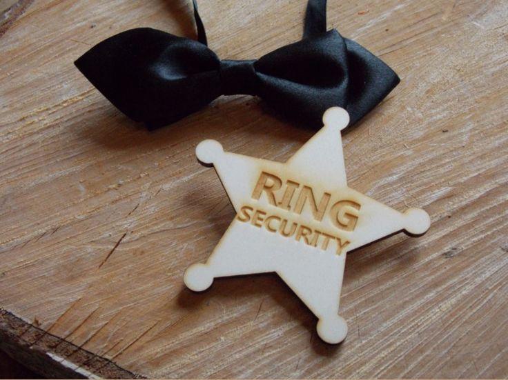 Hochzeitsbutton Ringsecurity - Hochzeit,Ringe von Sign City Home Accessoires auf DaWanda.com