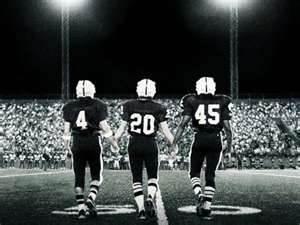 Texas high school football! You wouldn't understand!